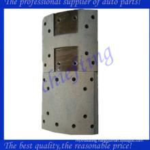 47441-1180a High quality semi metal rear hino brake lining