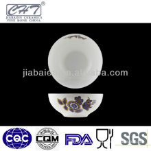 A073 Hot sale round chinese small porcelain bowl