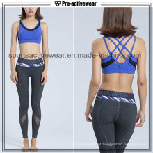 OEM Service Mulheres Sports Wear Workout Vestuário Atacado Custom Ladies Sports Bra