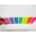 Fluorescent Color Custom Pet Index Sticky Notes (9610)