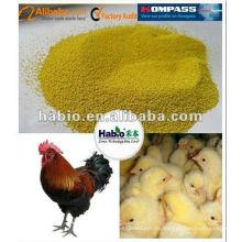 Alimentación orgánica de aves de corral