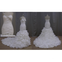 Wedding Dress Made of Organza Bride Dress