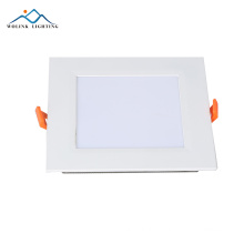 ip55 6w rechargeable emergency rgb ceiling cob led panel light