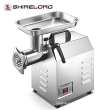 China Comercial para el equipo de la cocina del hotel acero inoxidable picadora de carne eléctrica