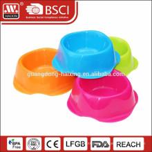 plastic pet bowl pet feeder for dog cat