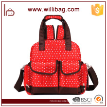 Factory Wholesale Baby Mummy Bag Multifunctional Diaper Bag Backpack