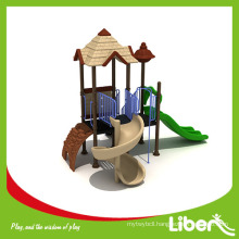 Hot sale plastic jungle used outdoor playground equipment for sale LE.GB.008