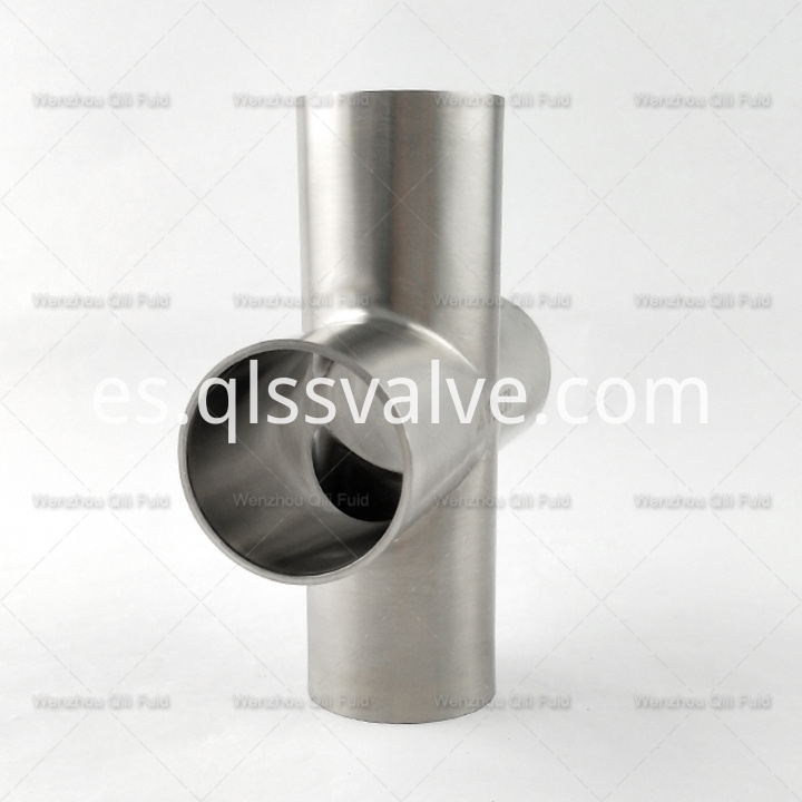 Sanitary pipe fittings Cross x13