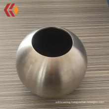 Popular Stainless Steel Hollow Ball for Ball-joint Stanchions with dia. 76*3mm SS304 stanchion ball