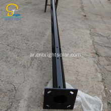 10M Q235 Steel Street Light Pole