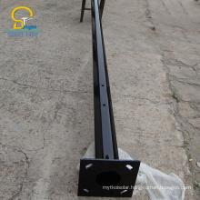 BR solar galvanized CE ISO steel poles galvanized machine street light poles price list