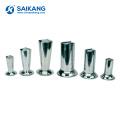 SKN042 Hospital Lab Stainless Steel Medical Measuring Forceps Cup Bucket