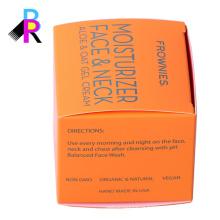 Caixa feita sob encomenda do perfume do empacotamento do cartão do projeto livre com de alta qualidade