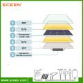 Hot selling 30W semi flexible sunpower solar panel for RV marine European