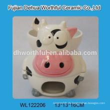 Lovely Cow Keramik Schokolade Fondue Topf