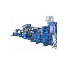 Linha de produção de tubos corrugados de parede dupla de PVC/PE