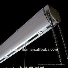 Римская штора с цепочкой, римская штора с лунным светом B набор компонентов - блок управления, цепь занавеса, металлический кронштейн, части римского оттенка