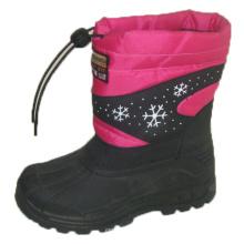 Bottes de neige populaires / Chaussures à injection avec nylon Oxford Upper (SNOW-190009)