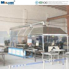 Sistema de limpieza de polvo con soldadura automática robotizada