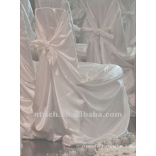 self-tie back chair cover,CT239 satin chair cover,universal chair cover