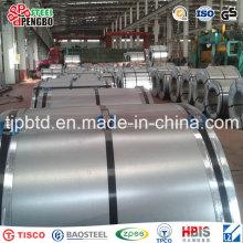 Bobina de acero galvanizada en frío / hoja galvanizada / hoja de acero galvanizada en bobina