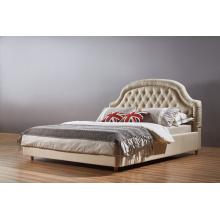 Muebles caseros, cama moderna, cama de la tela (A09)