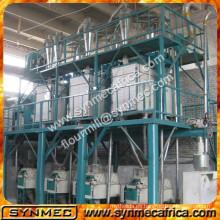 Molino de harina de maíz completo Máquina de molienda de harina de maíz de harina de maíz de 50 toneladas