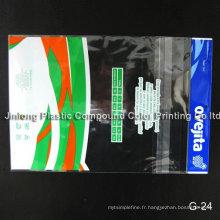 Sac de vêtement en plastique transparent OPP / CPP