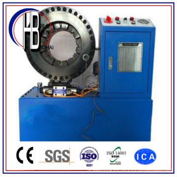 Máquina prensadora de manguera hidráulica de 1 1/4 pulgada