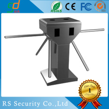 Vertikal Bergulir Waterproof Pinggang Height Turnstile