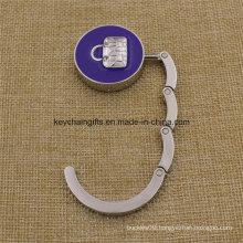 Promotion Gifts Metal Enamel Folding Bag Banger Hook