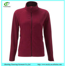 Nice casual fashion design polar fleece jacket women