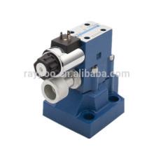Válvula de alivio solenoide de presión hidráulica de tipo rexroth DBW25