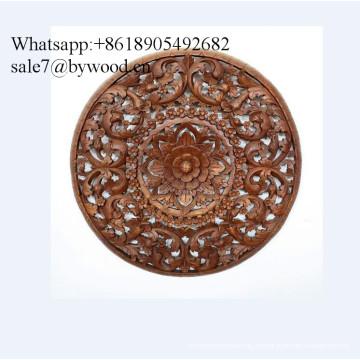 Colgante de pared hecho a mano tradicional Paneles de pared de madera tallada Paneles de madera tallada