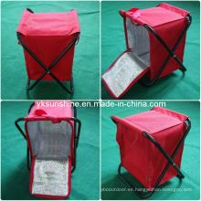 Camping taburete con un bolso más fresco (XY-104A1)