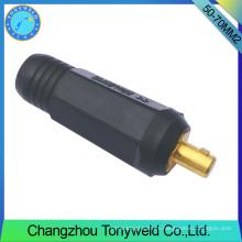 50-70mm2 TIG macho de soldadura cable de unión