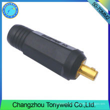 50-70mm2 TIG male welding cable jointer
