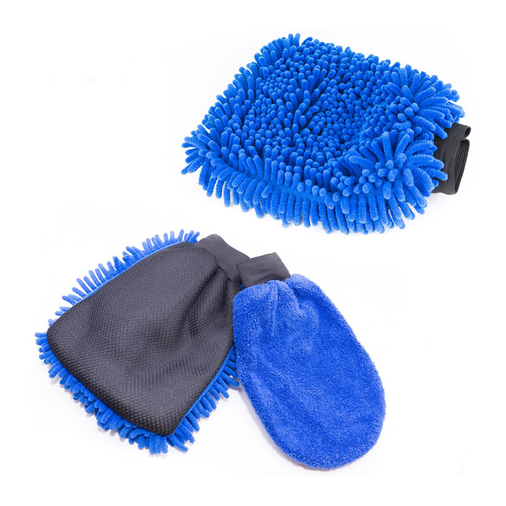 chenille wash mitts