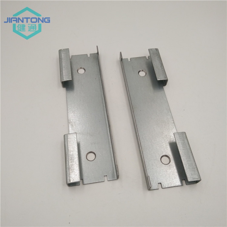 custom made zinc plated metal stamping parts (2)