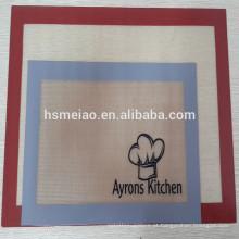 Silicone de qualidade alimentar Material tapete de cozimento de silicone antiaderente