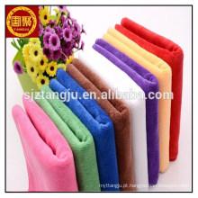 toalha de rosto de fibra micro colorido mágico em massa