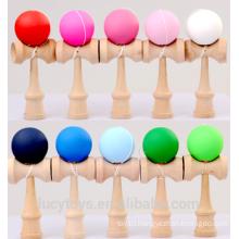 Wholesale Rubber Paint Kendama Toy