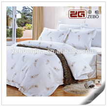 100% Cotton Hotel Used with Different Patterns Hotel Collection Bed Linen