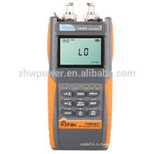 Комплект испытаний оптической потери FHM2, измеритель мощности волокна и лазерный источник, Оптический мультиметр с английским меню
