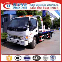 JAC 4x2 road removal truck wrecker for sale