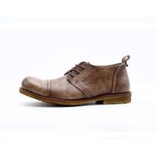 Mode runde Zehe Männer Leathe Schuhe (NX 439)