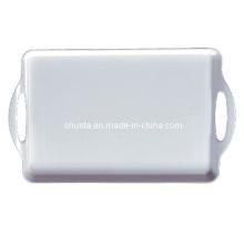 100% Melamin Geschirr-Hotel Versorgung Tablett mit Ohren / First Grade Geschirr (WT9015)