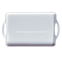 100% Melamine Dinnerware- Hotel Supply Tray with Ears/First Grade Tableware (WT9015)