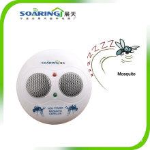 Repelente de mosquitos de alta frecuencia con dos altavoces
