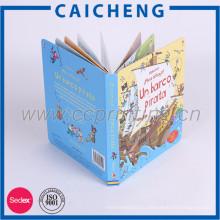 Пользовательские ручной 3D книжное производство картона детей